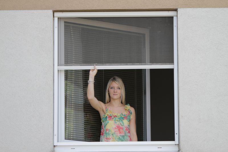 Fliegengitter f e jalousien schwechat for Fenster zieht