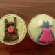 Trachten-Cupcakes