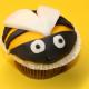 Bienen-Cupcake